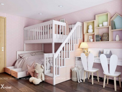 Những lưu ý khi thiết kế nội thất trẻ em