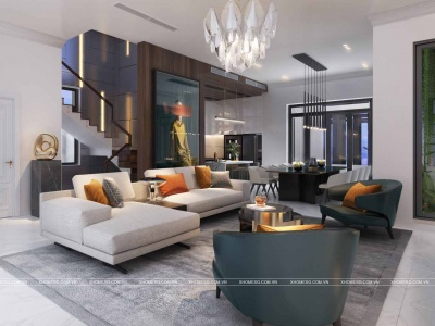 Xu hướng thiết kế nội thất biệt thự 2020
