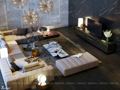 Xu hướng thiết kế nội thất chung cư 2020